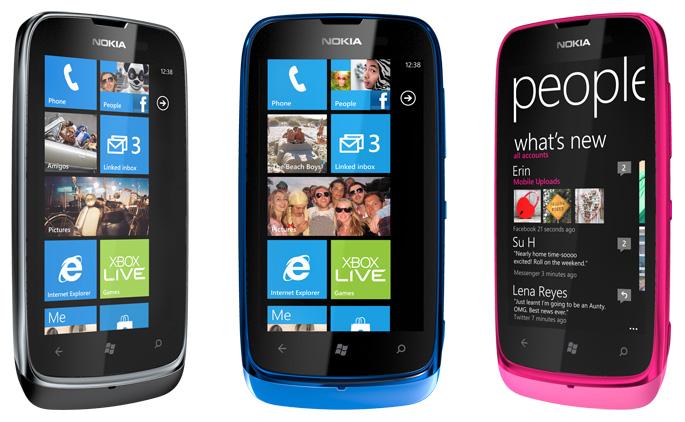 smartfon nokia lumia 610 jest dostępny na polskim rynku lumia 610