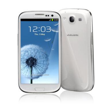 Test Samsung Galaxy S III