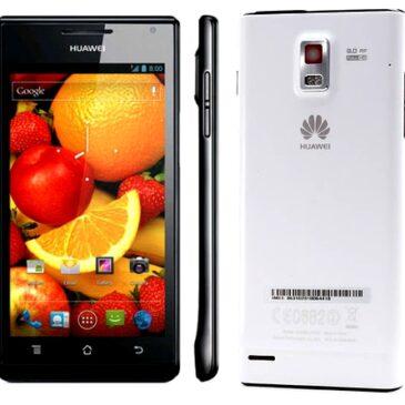 Test telefonu: Huawei Ascend P1