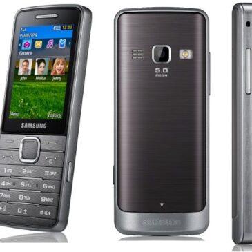 Test telefonu: Samsung S5610