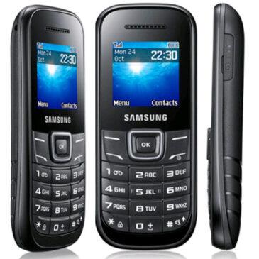 Test telefonu: Samsung E1200