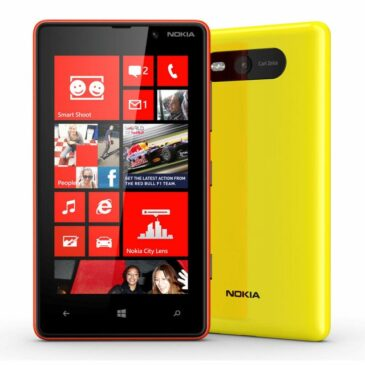 Video Test telefonu Nokia Lumia 820