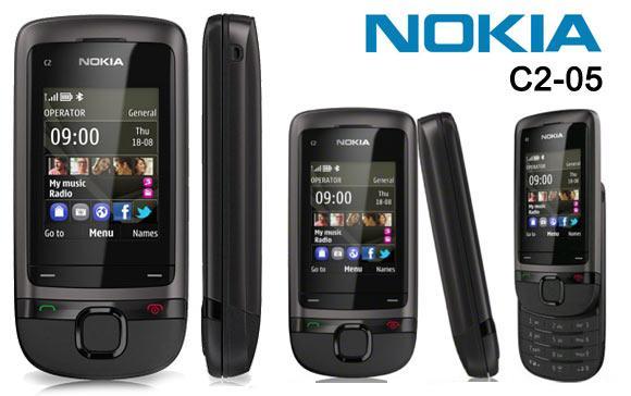 Test telefonu: Nokia C2-05