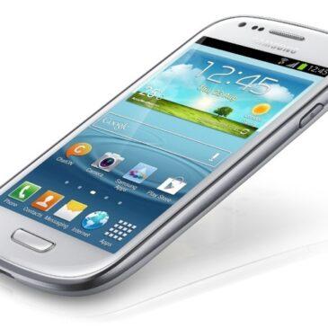 Samsung Galaxy S III MINI Test telefonu