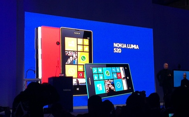 Nokia prezentuje dwa nowe smartfony – Lumia 520 oraz Lumia 720