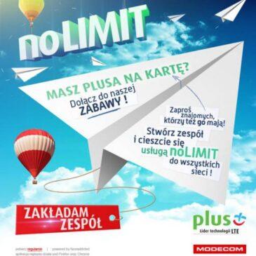 No Limit w Plus na Kartę dla fanów z Facebooka