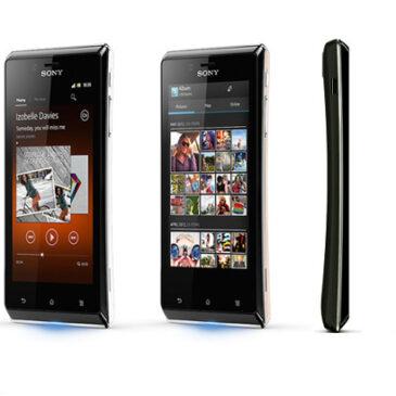 Test telefonu: Sony Xperia J