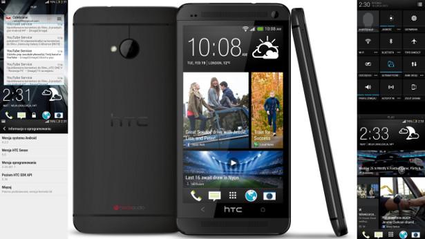 HTC One- Aktualizacja Android 4.2.2 Prezentacja