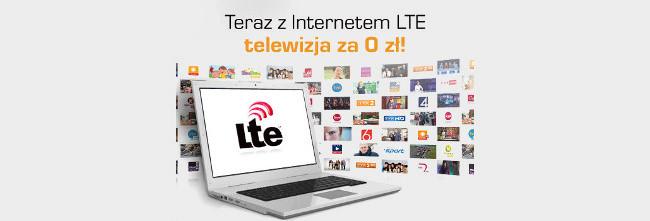 Z Internetem LTE telewizja za 0 zł w Cyfrowym Polsacie