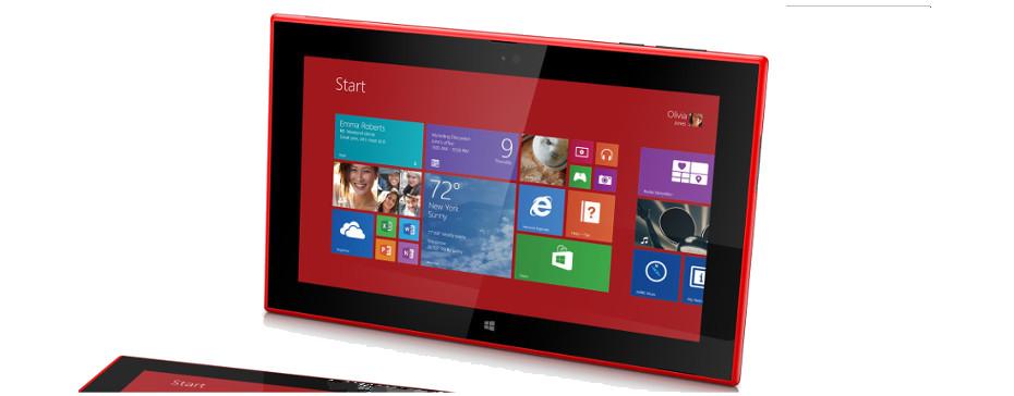 Lumia 2520 – tablet od Nokii