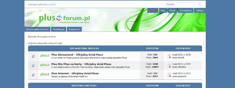 6 lat PlusForum.pl