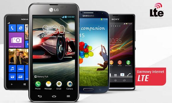 Darmowy internet LTE w smartfonach!