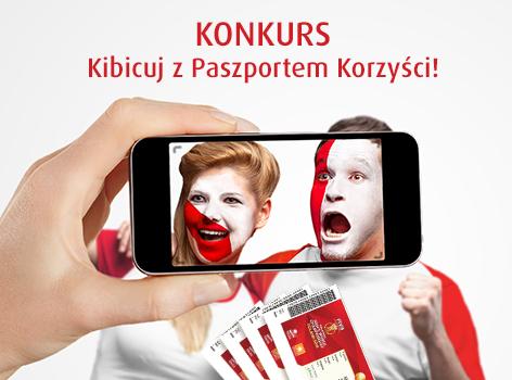 Konkurs Kibicuj z Paszportem Korzyści