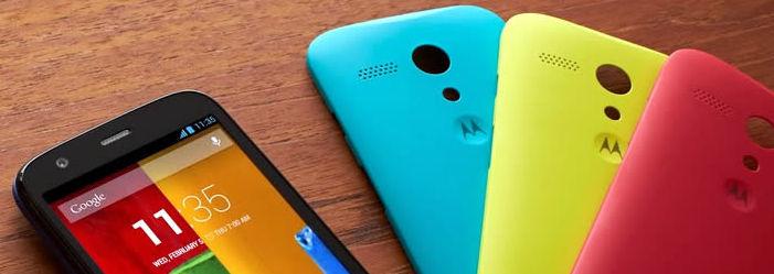 Android 5.0.1 dla obu modeli Moto G!
