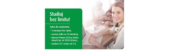 Promocja dla studentów i nauczycieli na Internet w Plusie