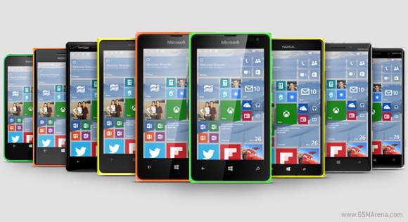 Lumia 435, 735 i 930 dostaną Windows 10!