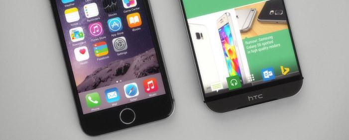 Render HTC One M9 w porównaniu z Galaxy S6 i iPhonem 6!