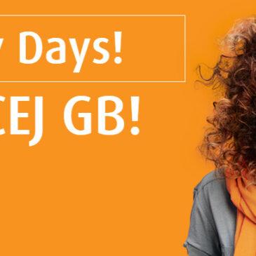 Happy Days! 2 x WIĘCEJ GB!
