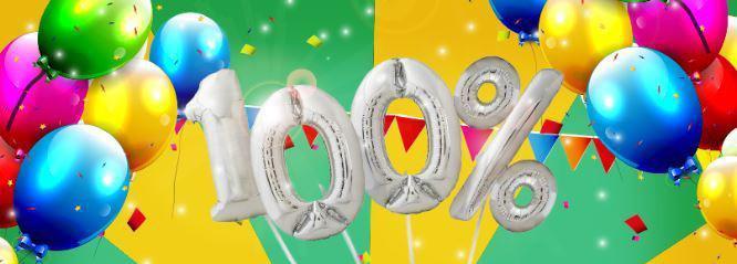 100% do doładowania na pierwsze urodziny Plusha