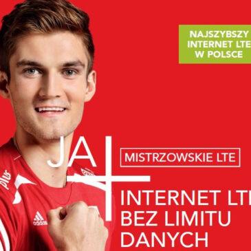 JA+ Mistrzowskie LTE bez limitu danych i z maksymalną prędkością!