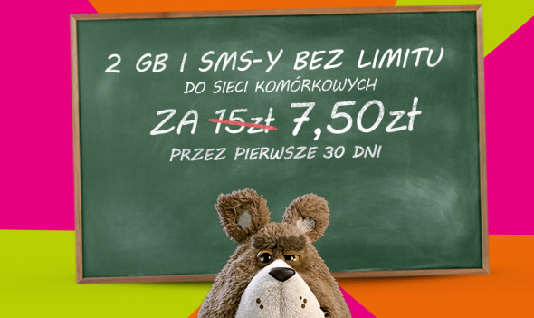 Przygarnij najtańszą ofertę na Internet i SMS-y w Plushu!