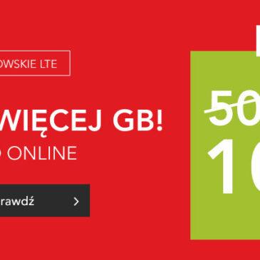 Ponownie 100 GB w specjalnej promocji Plusa, wracają HAPPY DAYS w e-sklepie!