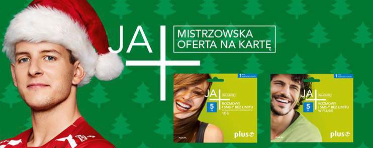 Startery JA+ Na Kartę teraz za darmo na www.plus.pl!