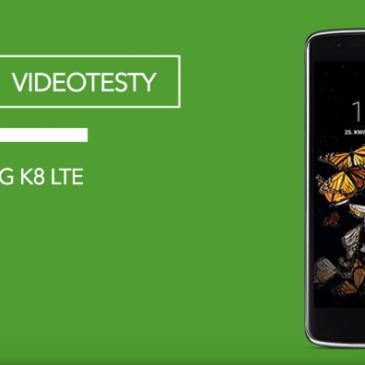 LG K8 LTE – test