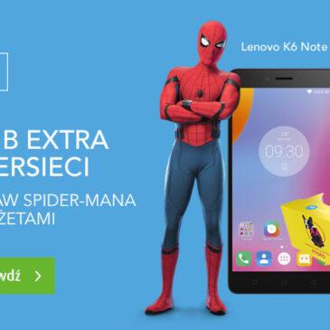 15 GB ekstra supersieci i zestaw Spider-Mana z gadżetami w JA+ Mix!