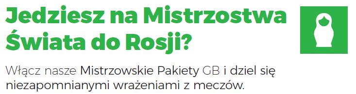 """""""Rosja piłka"""" – nowa promocja na Internet w roamingu w Plusie!"""