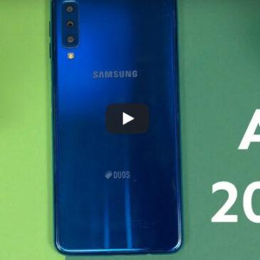 Samsung Galaxy A7 2018 Recenzja
