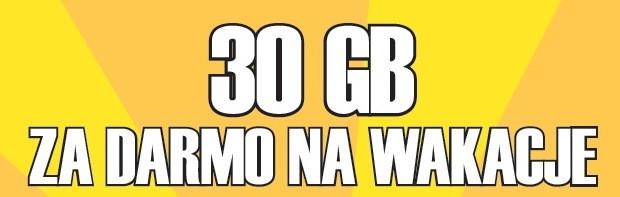 30 GB za darmo na wakacje od Plusha!