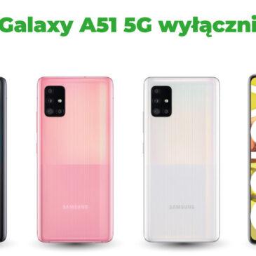 Samsung Galaxy A51 5G – dostęp do 5G w Plusie